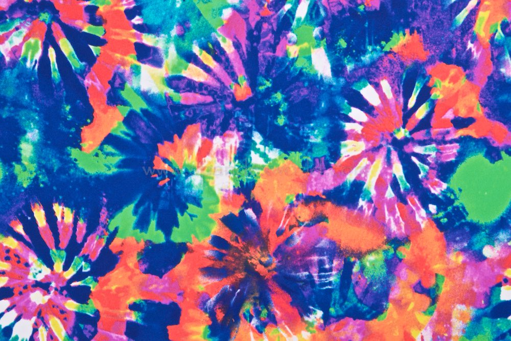 Tie Dye Print (Blue/Orange/Multi)