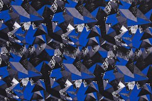 Abstract Print (Blue/Black/Multi)