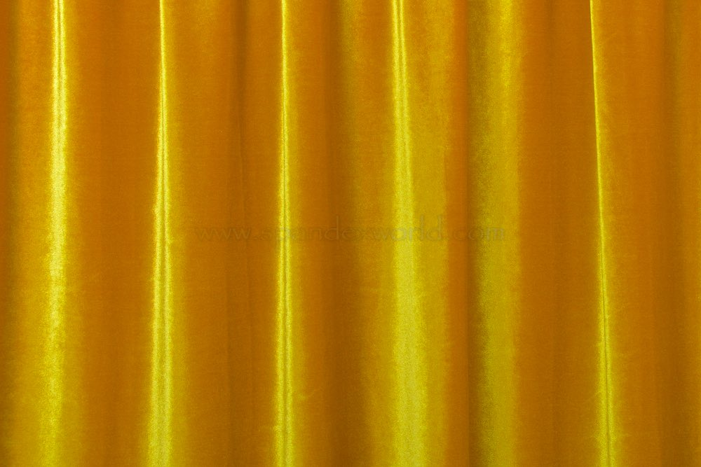 Stretch Solid Velvet (Light Gold)
