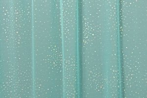 Glitter/Pattern Mesh (Light Mint/Pearl)