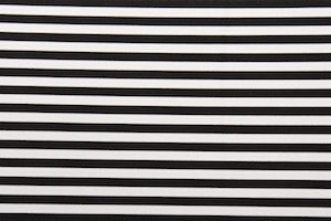 Printed Stripes (White/Black)