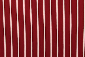 Printed Stripes (Burgundy/White)
