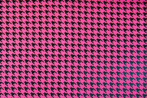 Pattern/Abstract Hologram (Fuchsia/Black)