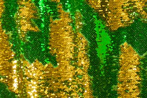 Reversible Sequins (Kelly/Gold)