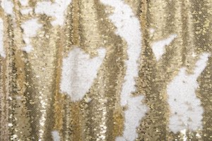 Reversible Sequins (Light Gold/White)