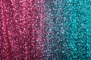 Non Stretch Sequins (Fuchsia/Turquoise Ombre)