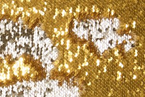Reversible Sequins (Gold/Silver)