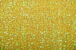 Stretch Sequins (Bright Yellow/Yellow)