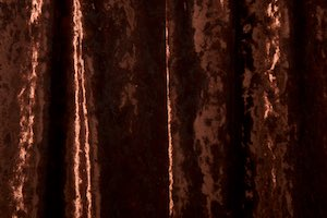 Stretch Crushed Velvet (Brown)
