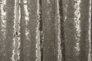 Stretch Crushed Velvet ( Silver)