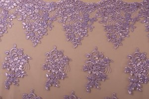 Non Stretch Sequins (Lavender/Lavender)
