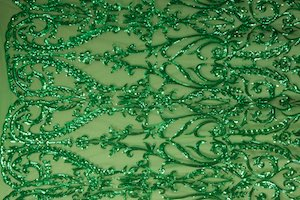 Non Stretch Sequins (Kelly Green/Kelly Green)