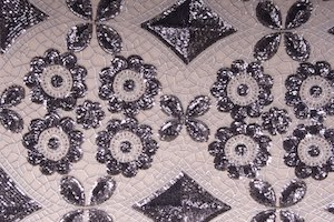 Stretch Sequins (gunmetal/gunmetal)