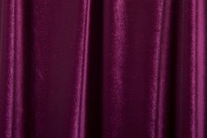 2 Way Stretch Solid Velvet (maroon)