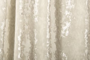 Stretch Crushed Velvet (Ivory)
