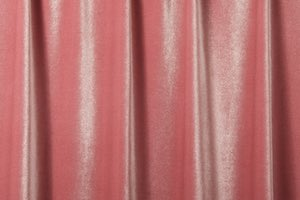 Stretch Solid Velvet (Dusty Rose)