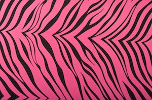 Animal Prints (Fuchsia/Black)