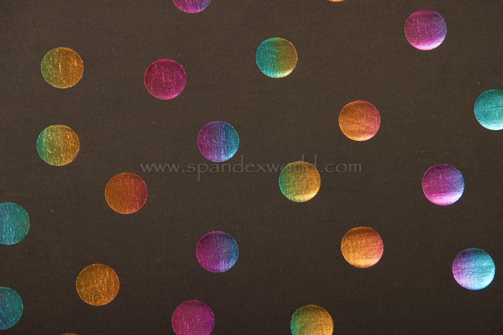 Polka Dots Hologram(Black/Gold/Purple/Multi)