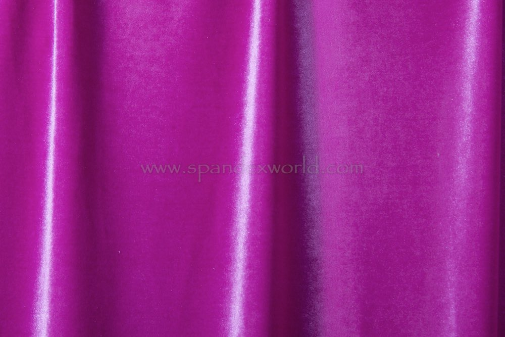 Stretch Solid Velvet (Orchid)