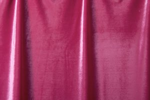 Stretch Solid Velvet (Dark Magenta)