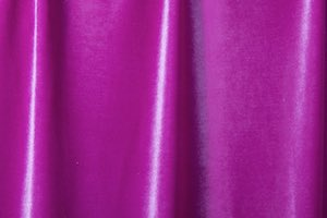 Stretch Solid Velvet (Magenta)