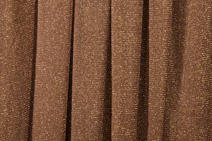 Glitter/Pattern Mesh(Dark Brown/Gold)
