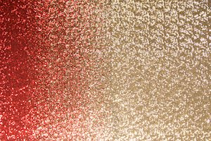 Stretch Sequins (Black/Red/Gold Ombre)