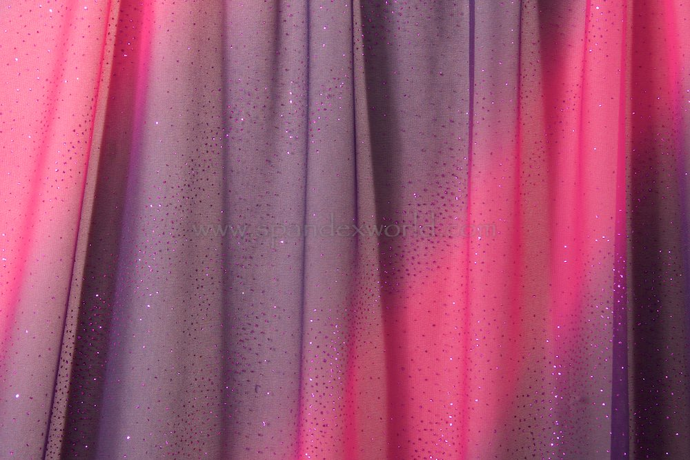 Sheer Glitter/Pattern(Magenta/Hot Pink/Black)