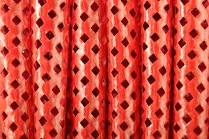 Metalic pattern spandex (Red)