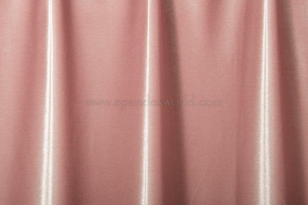 Stretch Solid Velvet (Blush)