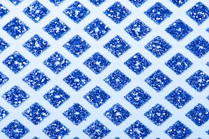 Cracked ice lace (Royal Blue/Royal Blue)