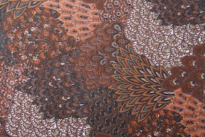 Peacock Prints With Sequins(Black/Brown/White/Multi)