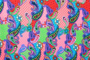 Paisley Print (Hot Pink/Red/Purple/Multi)