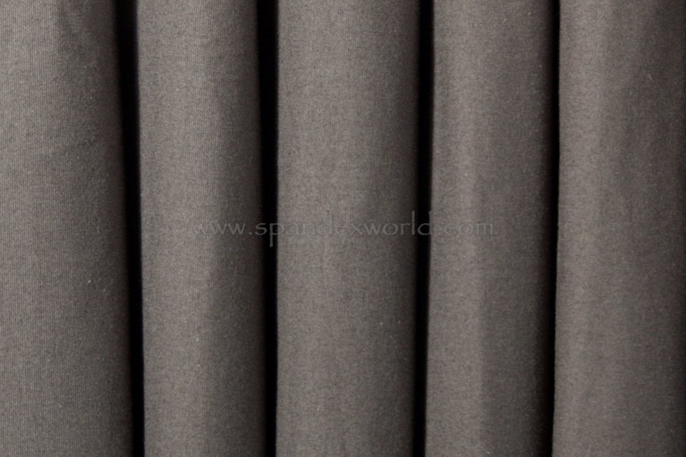 Cotton Lycra® (Charcoal Gray)(Heavy-weight)