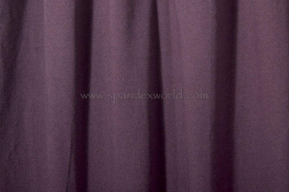 Cotton Lycra® (Plum)(Heavy-weight)
