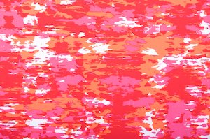 Abstract Prints (Red/Hot Pink/White)