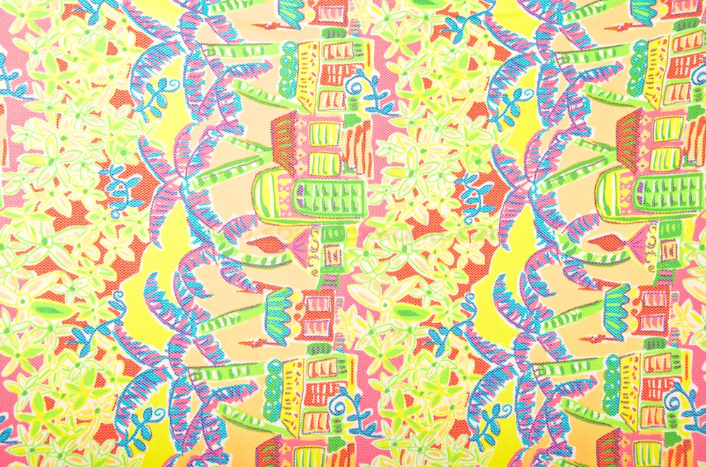 Abstract Prints (Green/Red/Pink/Yellow/Multi)