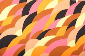 Abstract Prints (Hot Pink/Orange/Brown/Multi)
