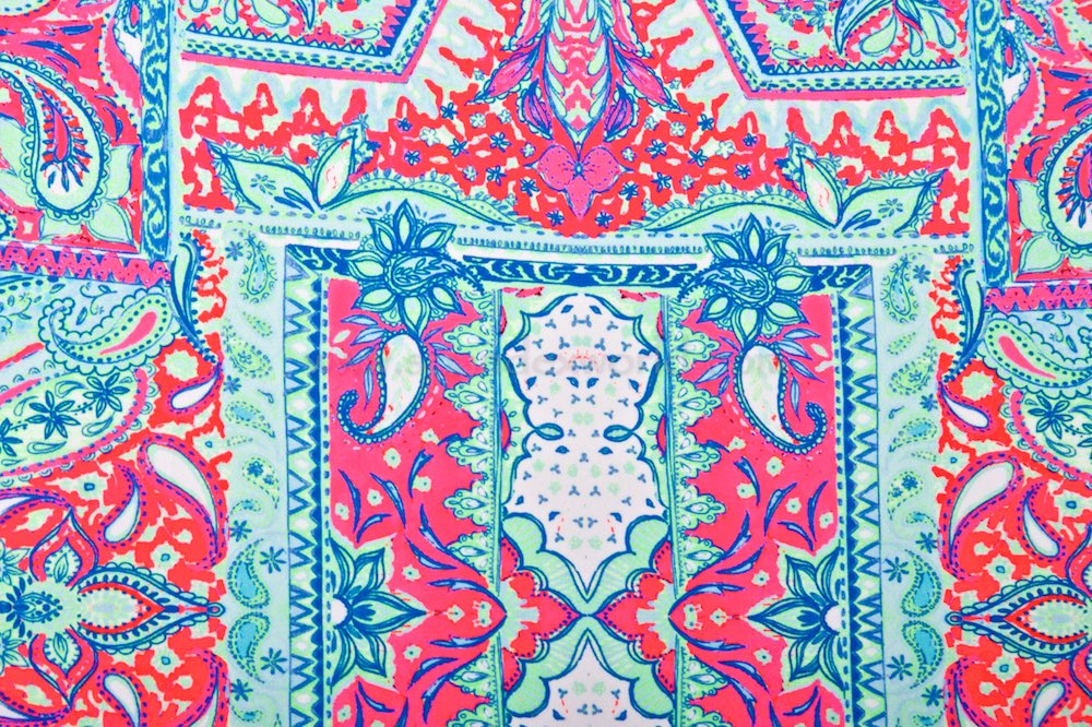 Paisley Prints (Hot Pink/Lime/Multi)