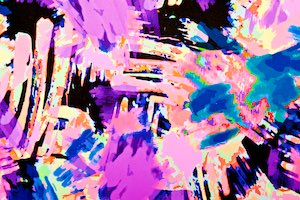 Abstract Prints (Purple/Black/Blue/Multi)