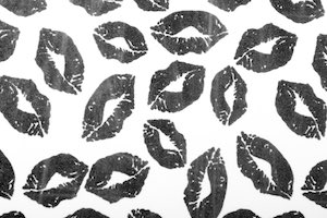 Lips prints (White/Black)