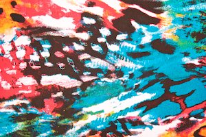 Abstract Prints (Green/Pink/Black/Multi)