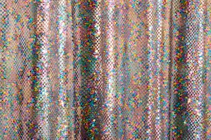 Stretch Sequins (Black/Multi)