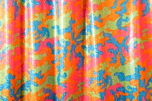 Pattern/Abstract Hologram (Pink/Orange/Blue/Multi)