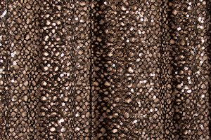 Stretch Sequins (Black/Black)