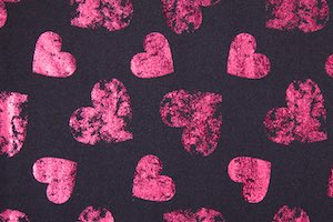 Pattern/Abstract Hologram (Pink/Black)