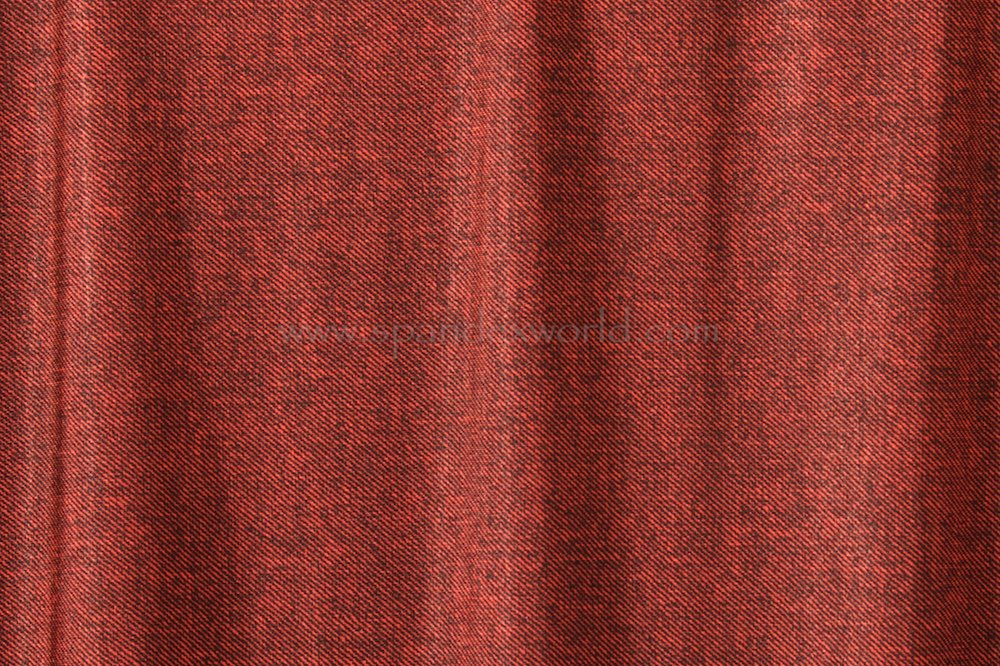 Stretch Twill (Red/Brown)