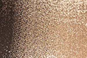 Non Stretch Sequins (Black/Gold Ombre)