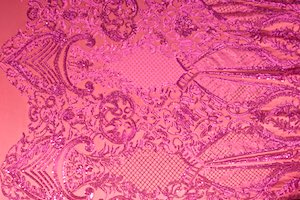 Stretch Sequins (Fuchsia/Fuchsia)