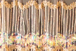 Non-Stretch Fringe Sequins(Blush/Gold/Clear Pearl)
